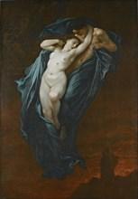 Paolo and Francesca. Artist: Doré, Gustave (1832-1883)