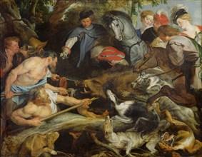 The Wild Boar Hunt, ca 1616.