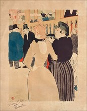 At the Moulin Rouge, La Goulue and her Sister, 1892
