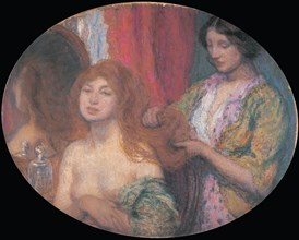 Combing the Hair, c. 1912.