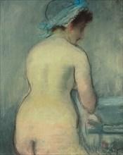 Toilet, ca 1879.