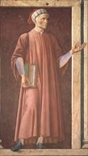 Portrait of Dante Alighieri (1265-1321).