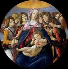 Botticelli, Madonna della Melagrana