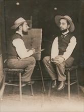 Lautrec paints Lautrec.