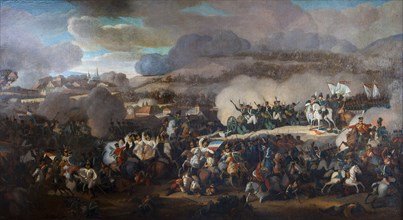 The Battle of the Nations of Leipzig on October 1813.