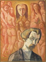Symbolic Self-Portrait (Vision).