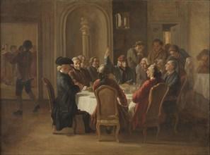 Souper des philosophes (La sainte cène du patriarche).