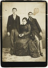 Jeanne Proust née Weil and her two sons Marcel and Robert.