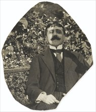 Marcel Proust at the Tuileries Garden.