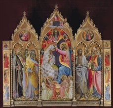 The Coronation of the Virgin, Early 15th cen..