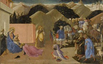 The Adoration of the Magi, ca 1445.