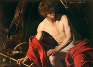 Saint John the Baptist in the Wilderness, ca 1604.