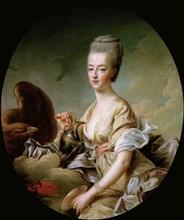 Portrait of Queen Marie Antoinette (1755-1793) als Hebe, 1773.