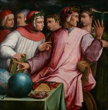 Group Portrait of Six Tuscan Poets (Dante, Petrarca, Boccaccio, Guido Cavalcanti, Marsilio Ficino an