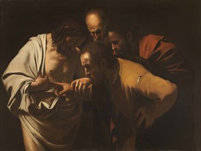 The Incredulity of Saint Thomas, 1600-1601.
