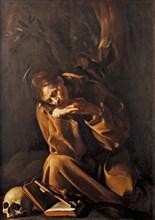Saint Francis in Meditation, 1606.