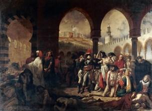 Bonaparte Visiting the Plague Victims of Jaffa, 1804.