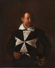 Portrait of Fra Antonio Martelli (Knight of Malta), 1608.