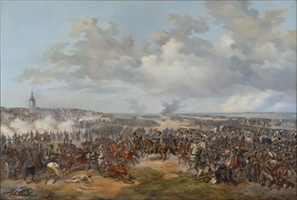 Swedish Troops Assaulting the Town Gate of Leipzig, October 19, 1813, 1853.