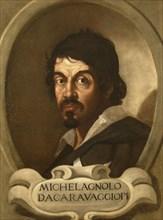Portrait of Michelangelo Merisi da Caravaggio, 17th century.