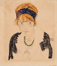 Wally Neuzil, 1912.