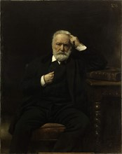 Portrait of Victor Hugo, 1870s.