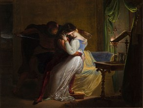 Paolo and Francesca, 1825-1829.