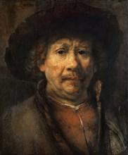 Small Self-Portrait, ca 1657 .