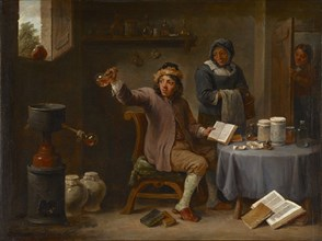 The Doctor's Visit, c. 1660.