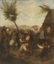 Maypole, c. 1830-1840.
