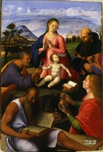The Virgin and Child with Saints  , 1500.