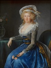 Portrait of Maria Theresa of Naples and Sicily (1772-1807), c. 1790.