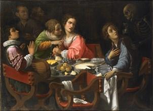 Death Comes to the Banquet Table (Memento Mori), Between 1625 and 1638.