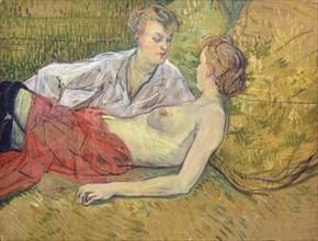 Les deux amies, 1895.