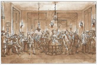 A Magnetic Experiment. Creator: Desrais, Claude Louis (1746-1816).