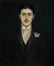 Portrait of Marcel Proust, 1892. Creator: Blanche, Jacques-Émile (1861-1942).