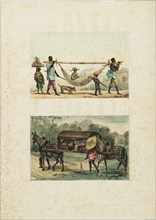 Retour, a la ville, d'un propriétaire de chacra, 1835. Creator: Debret, Jean-Baptiste (1768-1848).