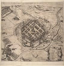 The Siege of Pilsen by Ernst von Mansfeld on 21 November 1618, c1620.