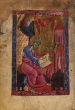 Saint Matthew the Evangelist (Manuscript illumination from the Matenadaran Gospel), 1237.