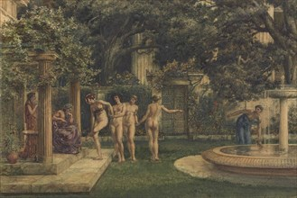 A Visit to Aesculapius, 1875.
