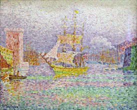 'Port of Marseilles', 1906-1907. Artist: Paul Signac