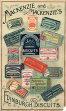 Mackenzie & Mackenzie's Edinburgh Biscuits, 19th century. Artist: Unknown