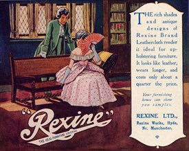 Rexine furniture covering, c.1920. Artist: Unknown