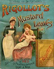 Rigollot's Mustard Leaves, 19th century. Artist: Unknown