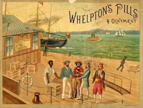 Whelpton?s Pills & Ointment, 19th century. Artist: Unknown