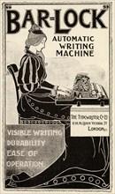 Bar-Lock Typewriter, 19th century.
