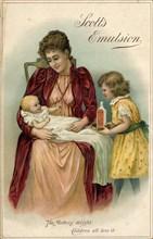 Scott?s Emulsion, 1900. Artist: Unknown