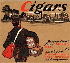 Martin Bros. Cigar Manufacturers, 1900s. Artist: Unknown
