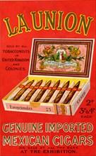 La Union cigars, 1900s. Artist: Unknown