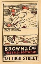Brown & Co?s - footwear, 1910s-1920s. Artist: Unknown